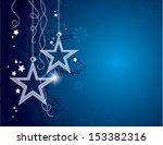 christmas background. vector... | Shutterstock .eps vector #153382316