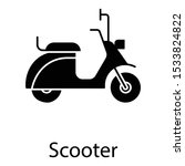 two wheeler vehicle  scooter... | Shutterstock .eps vector #1533824822