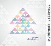 the stylized geometrical...   Shutterstock .eps vector #153384872