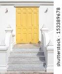 The Classic Yellow Door In...
