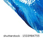 blue and white acrylic painting ... | Shutterstock . vector #1533984755