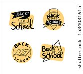 set for school and university.... | Shutterstock .eps vector #1534031615