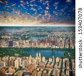 Wonderful Aerial View Central Park - Fine Art prints