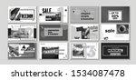 geometric sale set  popular...   Shutterstock .eps vector #1534087478