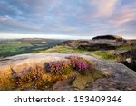 Heather And Gritstone Outcrops...