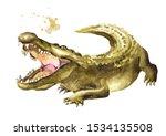 Wild Attacker Forward Crocodile ...