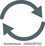 update icon. update sign.... | Shutterstock .eps vector #1534139732