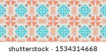 ethnic pattern. white wrapping... | Shutterstock . vector #1534314668