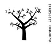 trees vector illustrations. can ... | Shutterstock .eps vector #1534425668
