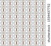 seamless vector pattern in... | Shutterstock .eps vector #1534437752