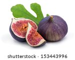 some fresh juicy figs with... | Shutterstock . vector #153443996