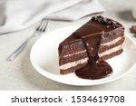 Delicious Fresh Chocolate Cake...