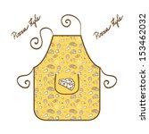 stylish apron vector... | Shutterstock .eps vector #153462032