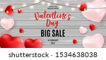 valentine's day love and... | Shutterstock .eps vector #1534638038