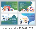 ecommerce illustration set.... | Shutterstock .eps vector #1534671392