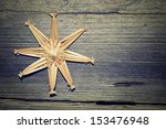 Straw Star As Christmas...