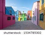 burano  italy   october 16th ... | Shutterstock . vector #1534785302