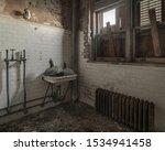 the abandoned ellis island... | Shutterstock . vector #1534941458