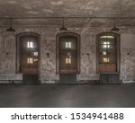 ellis island abandoned hospital ... | Shutterstock . vector #1534941488