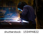 welding work.  | Shutterstock . vector #153494822