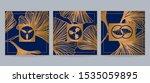 set of japanese patterns for... | Shutterstock .eps vector #1535059895
