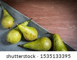 Conference Pears On A Concrete...
