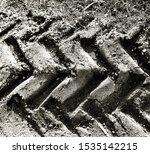 Beautiful Tractor Sand Tracks...