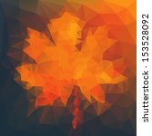 abstract autumn illustration...   Shutterstock .eps vector #153528092