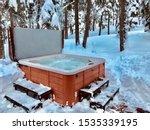 Spa Hot Tub Lake Tahoe Snow