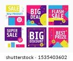 social media banner template ...   Shutterstock .eps vector #1535403602