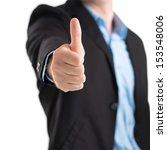 close up of a human hand... | Shutterstock . vector #153548006