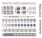 photo infographics set  vector...   Shutterstock .eps vector #153570506