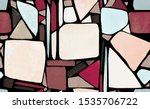 mosaic. seamless pattern with... | Shutterstock . vector #1535706722