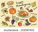 Thanksgiving Icon Doodles...