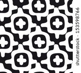 vector seamless simple pattern. ... | Shutterstock .eps vector #153598766