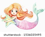 Little Mermaid Character...