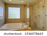 Contemporary Bathroom Tub And...