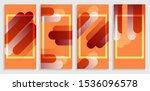 orange gradient modern...   Shutterstock .eps vector #1536096578