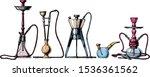 vector color hand drawn sketch... | Shutterstock .eps vector #1536361562