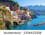 Atrani Town By Amalfi On...