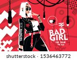bad girl you think you want... | Shutterstock .eps vector #1536463772