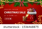 special offer  christmas sale ... | Shutterstock .eps vector #1536468875