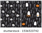 Cute Hand Drawn Halloween...