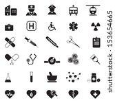 medical icon | Shutterstock .eps vector #153654665