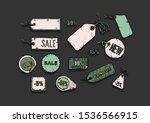 vector illustration of sale... | Shutterstock .eps vector #1536566915