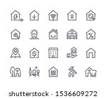 home line icons. browser... | Shutterstock .eps vector #1536609272