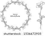 vector set. delicate flowers....   Shutterstock .eps vector #1536672935