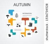 autumn infographic 10 line...