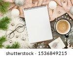 winter cozy mockup background... | Shutterstock . vector #1536849215