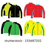 jacket design   Shutterstock .eps vector #153687332